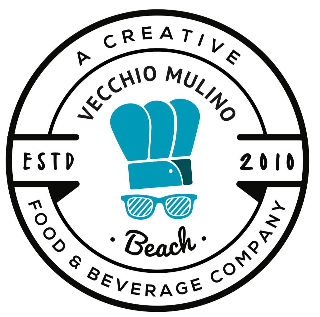 Vecchio mulino beach logo